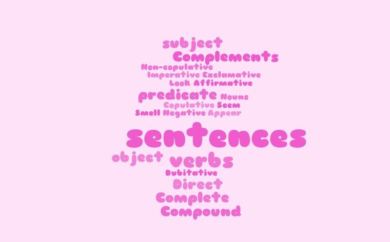 struktur kalimat dalam bahasa inggris